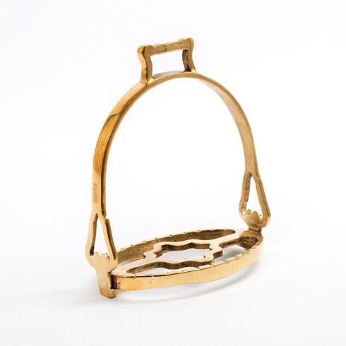 Barocke Steigbügel in Gold Farbe bei Picadera