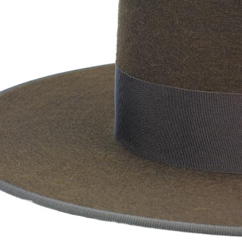 Spanischer Filzhut zum Reiten Braun mit Hutband Picadera